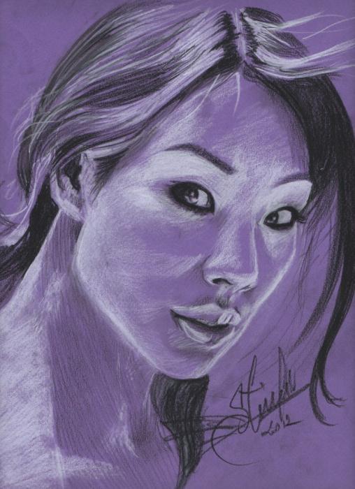 Lucy Liu par slimensay